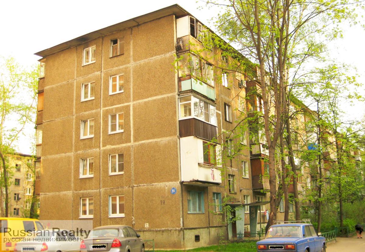 Серия дома 1-464 Общий вид здания