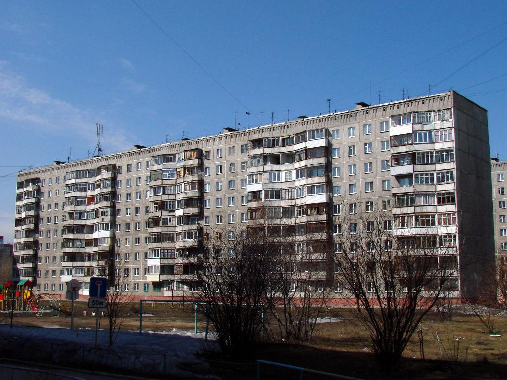 Серия I-464Д Внешний вид здания