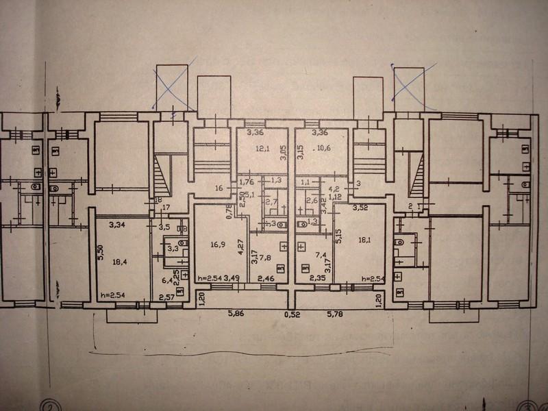 План дома серии 85