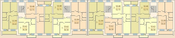 План дома типовой серии 85