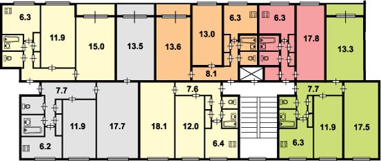 Серия 1ЛГ-600А план