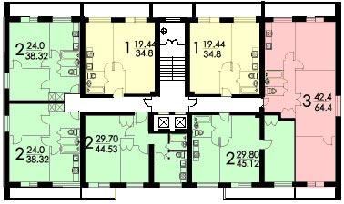 планировка И-209а
