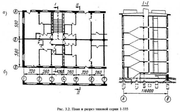 Серия I-335 Планировка 3
