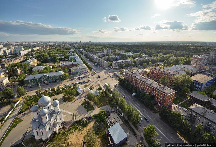 НОВОСИБИРСК, улица Богдана Хмельницкого  -Все дома России