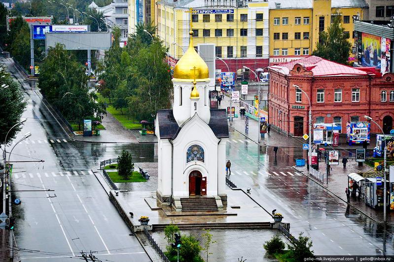 Новосибирск, Часовня святителя Николая Чудотворца