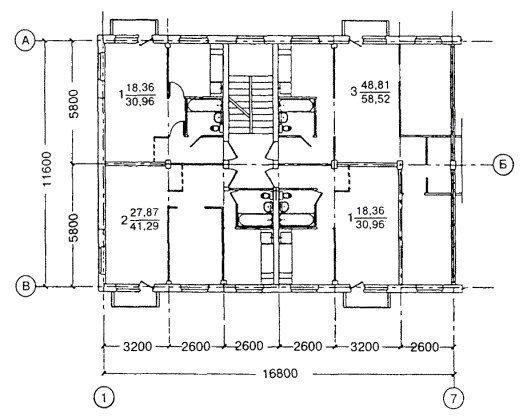 Серия I-335 Планировка 2