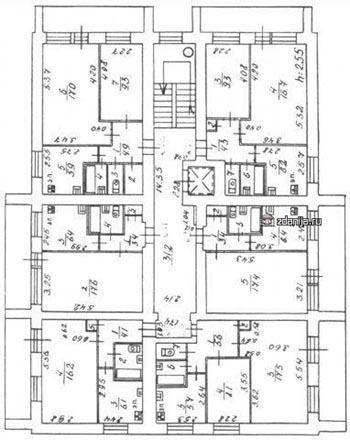 Типовой проект I-447С-42. Планировки.