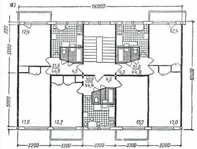 серия 1ЛГ-502 - планировка